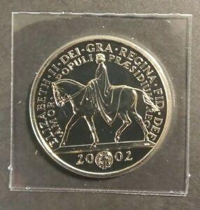 GB 2002 Queen's Golden Jubilee £5 Coin Brilliant Uncirculated BU