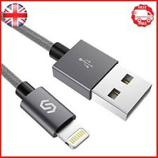 Syncwire SW-LC008 iPhone Charger Lightning Cable- 2M 6.5ft Nylon Braided Durable
