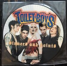 """Toilet Boys - Sinners And Saints 12"""" Picture Disc Condfront Records CF-122"""