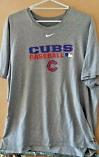 Nike Dri- Fit Chicago Cubs Poly Tee Size XL