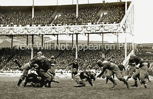 "1916 Army-Navy Football Game Polo Grounds Vintage Photograph 11"" x 17"" Reprint"