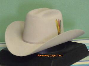STETSON RANCHER 6X FUR FELT COWBOY WESTERN HAT