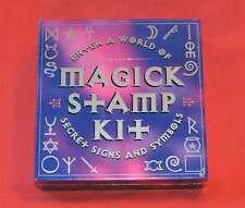 MAGIC STAMP KIT - ASTROLOGY BOOK - MENTALISM - PSYCHIC READINGS - TRICKS - MAGIC