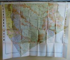 1910 Antique Map Ellis County Texas Midlothian Crisp Ennis Palmer 42X35 #4217