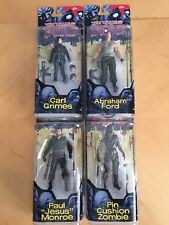 Walking Dead Comic book figures série 4 Ensemble Complet Jésus Carl Abraham PIN