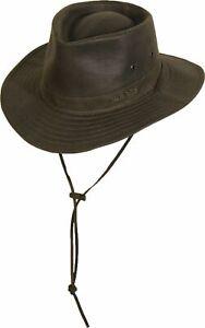Scippis PROTECTOR Anglerhut Regenhut Hut Australien wasserfest Wachshut Outdoor