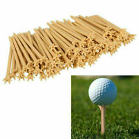 10/20/50/100Pcs Lot Professional Frictionless Golf Tees Wheat Tool Tee Golf