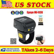 Symcode Mini Bluetooth Ring Finger 2D Barcode Scanner Reader For Android&iOS US