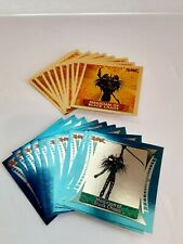 Yu-Gi-Oh! 1996 Topps Stickers Complete Set 73 Card Orange Yellow Gold Silver