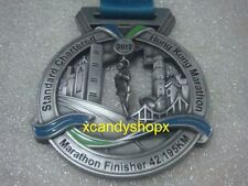 Standard Chartered Hong Kong Marathon 2017 finisher medal (42.195km)