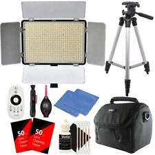 Professional 600 LED Video Light to 2200 Lumens Dimmable for Studio or YouTube