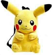New Pokemon Pikachu  Plush Doll Backpack 14 inch Costume Bag Nintendo licences