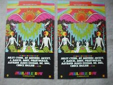 Flaming Lips 2 promo mini posters With A Little Help From My Fwends The Beatles