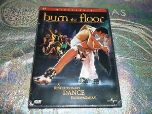 BURN THE FLOOR (NTSC 1) (DVD, NR) (NEW SEALED) (141441 A)