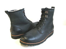 UGG HANNEN TL MEN BOOTS LEATHER BLACK US 11 /UK 10 /EU 44.5