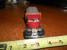 WELLY 1/36 MARK CEMENT TRUCK  ANTIQUE LORRY PULL BACK ACTION REAL RUBBER TIRES