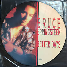 """Bruce Springsteen """"Better Day"""" Picture Disc 12"""" 1992 Rare B-sides"""
