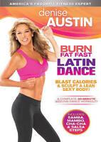 Denise Austin: Burn Fat Fast Latin Dance [DVD] DISC ONLY ENTERTAINMENT MOVIE