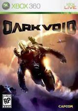 XBOX 360 Dark Void Video Game capcom aliens flight shooter fps fighting COMPLETE