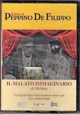 dvd IL TEATRO DI PEPPINO DE FILIPPO HOBBY & WORK Il malato immaginario
