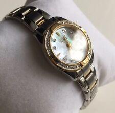 Genuine ladies Citizen Eco Drive Regent Diamond Designer Watch ew1824-57d Mop