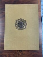 1967 Anderson College Yearbook Hardcover Green Echoes Vintage 1960s MCM Indiana