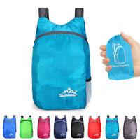 Ultralight Daypack Bag Folding Breathable Waterproof Lightweight Travel Backpack