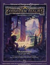 FR2 MOONSHAE w/MAP EXC! Dungeons Dragons Module TSR AD&D D&D Forgotten Realms