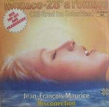 "7"" 1978 KULT & RARE IN MINT- ! JEAN-FRANCOIS MAURICE : Monaco 28 A L´Ombre"