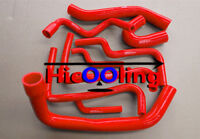 Red Silicone hose for COMMODORE VT-VX STATESMAN WH Supercharged 3.8L V6 L67