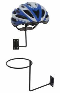 3 Pcs Wall Mounted Metal Helmet Holder Stand Top Hat Display Rack Hanger hook