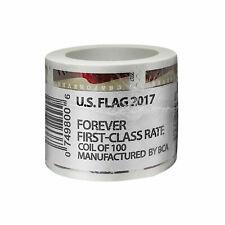 10 Rolls of 2017 Forever America Flag Postage Stamps 1000 USPS Stamps