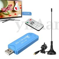 USB 2.0 Digital DVB-T SDR+DAB+FM Radio HDTV TV Tuner Receiver Stick for Windows