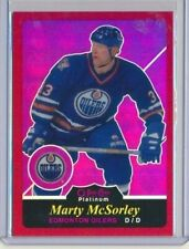 2015-16 O-Pee-Chee Platinum Red Rainbow Retro R15 Marty McSorley /15 Oilers