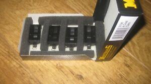 MINITRAINS HOE 009 GAUGE 4 COAL WAGONS 5106