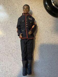 Mattel Black African Ken Male Barbie Doll 1968 Body & 1987 Head VINTAGE MILITARY