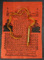 TAKRUT NECKLACE AMULET FOR GOOD LUCK BUDDHIST SHAMAN BLESSED & EMPOWERED