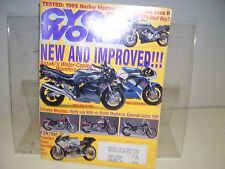 TEST 3 Cruise Missiles, Cycle World 1992 Nov Harley Electra Glide, FZR 750