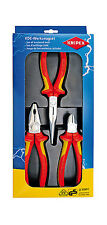 Knipex 00 20 12 VDE Professional Elektro Pack - 3 Pieces Pliers Set (002012)