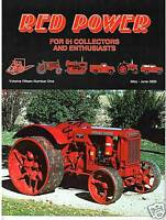 W-4064 IH truck, Implements – Tractor decals RED POWER