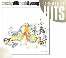 Crosby Stills Nash & Young So Far CD Greatest Hits Compilation New