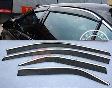 FIT FOR 07~11 TOYOTA CAMRY WEATHERSHIELD RAIN GUARD WINDOW WIND VISOR DEFLECTOR