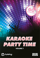 PARTY TIME VOL 7 SUNFLY KARAOKE DVD - 60 HIT SONGS