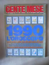 GENTE MESE n°1 1990 Speciale Madonna Ciccone Bonaccorti Ornella Muti [M25]