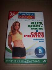Caribbean Workout 2 Pack - Abs, Buns  Thigh/Core (DVD, 2005, 2-Disc Set)~NEW