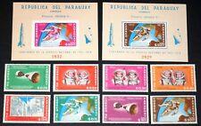 Paraguay Stamps & Souvenir Sheets #911-918a Mnh Complete Set 1966 cv$58