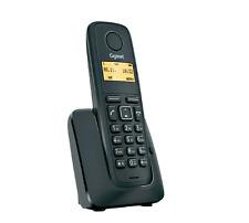 Siemens Gigaset a120/A 120 sans fil analogique Téléphone Noir