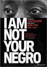 I Am Not Your Negro Samuel L. Jackson, James Baldwin & Raoul Peck (Format: DVD)