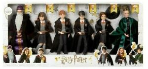 Harry Potter 6 Pack Dolls Figurines Collectible Toys Mattel Merchandise Sealed