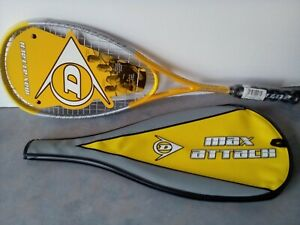 Dunlop Max Attack Premium Graphite Squash Racket BNWT